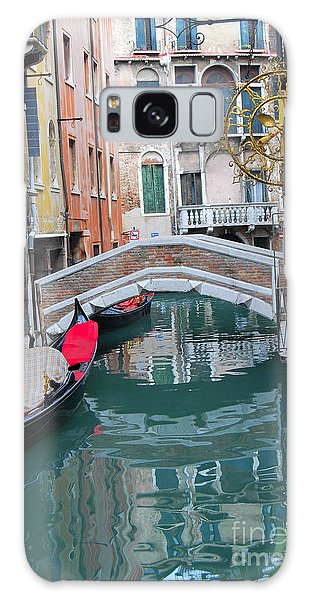 Venice Canal And Buildings Galaxy Case