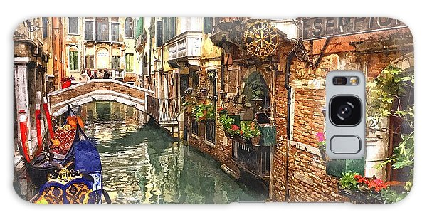 Venice Canal Serenity Galaxy Case by Gianfranco Weiss