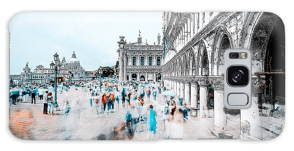 Town Square Galaxy Case - Venice by Carmine Chiriac?