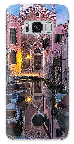 Venice Evening Galaxy Case by Joan Herwig