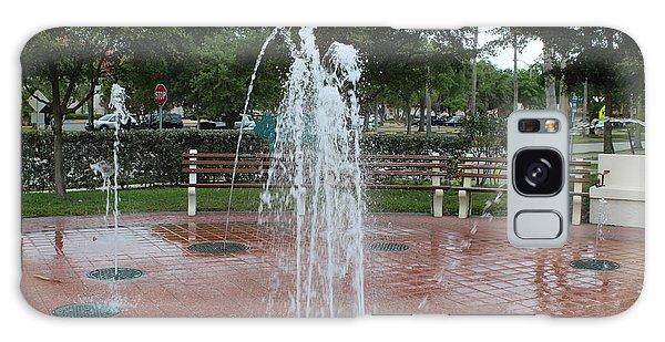 Venice Florida Fountain Galaxy Case