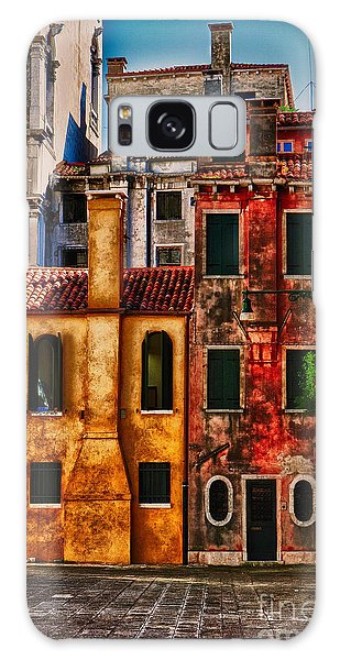 Venice Homes Galaxy Case by Jerry Fornarotto