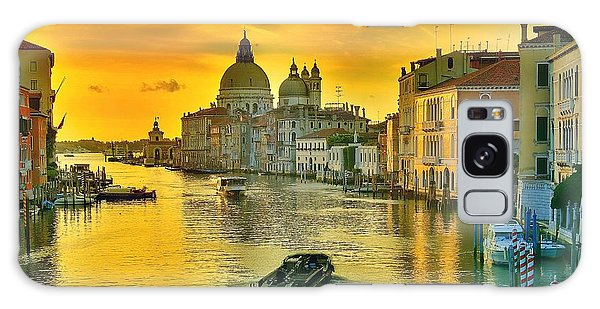Golden Venice 3 Hdr - Italy Galaxy Case