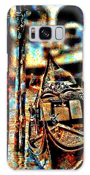 Venice In Grunge 3 Galaxy Case