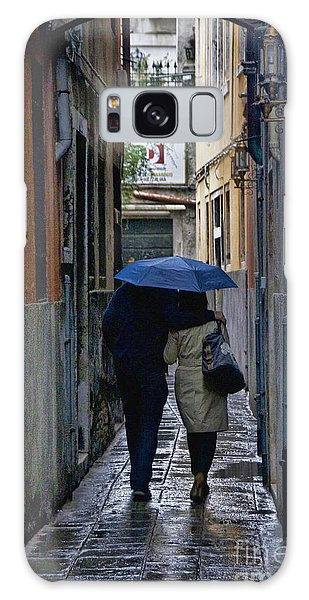 Venice In The Rain Galaxy Case
