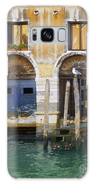 Venice Italy Double Boat Room Galaxy Case