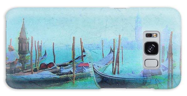 Venice Italy Gondolas With San Giorgio Maggiore Galaxy Case