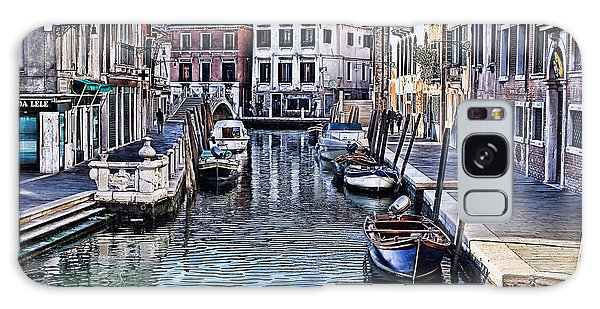 Venice Italy Iv Galaxy Case by Tom Prendergast