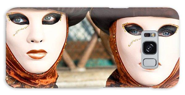 Venice Masks - Carnival. Galaxy Case