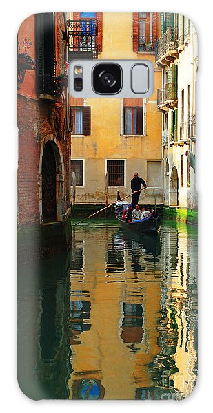 Venice Reflections Galaxy Case by Bob Christopher