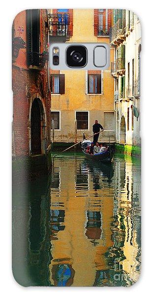 Venice Reflections Galaxy Case