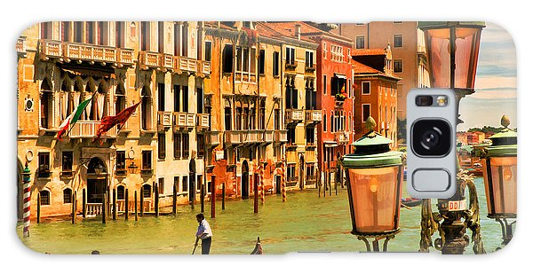 Venice Street Lamp Galaxy Case