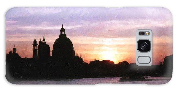 Venice Sunset Galaxy Case