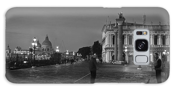 Venice Sweepers Galaxy Case by Marion Galt