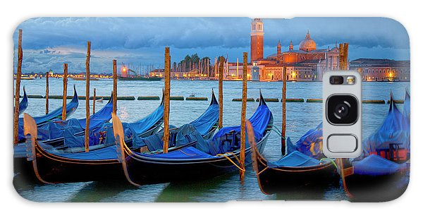 Venice View To San Giorgio Maggiore Galaxy Case