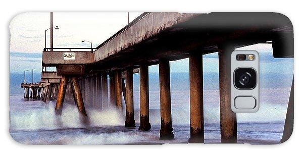 Venice Beach Pier Galaxy Case