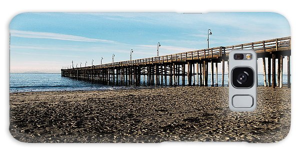 Ventura Beach Pier Galaxy Case