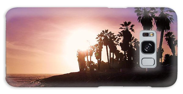 Ventura Beach Sunset Galaxy Case