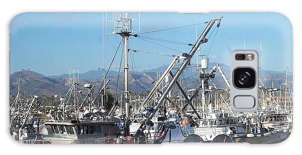 Ventura Harbor  Galaxy Case