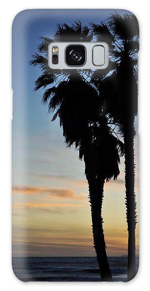 Ventura Palm Sunset Galaxy Case