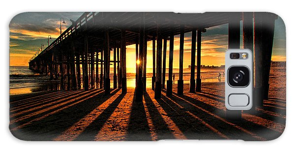 Ventura Pier At Sunset Galaxy Case