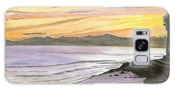 Ventura Point At Sunset Galaxy Case
