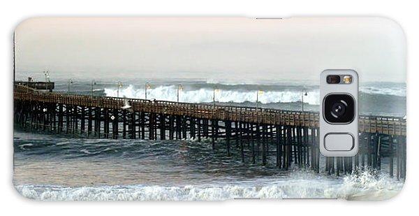 Ventura Storm Pier Galaxy Case