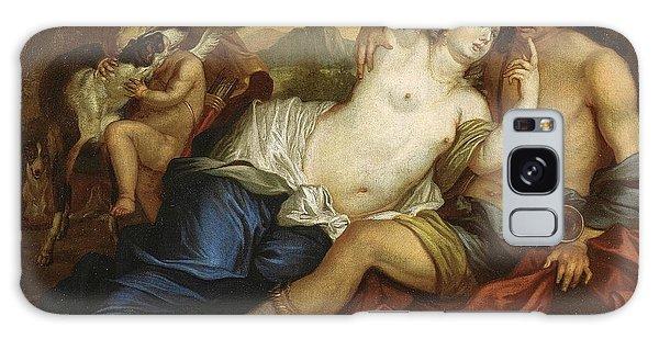Venus Galaxy Case - Venus And Adonis by Jan Boeckhorst