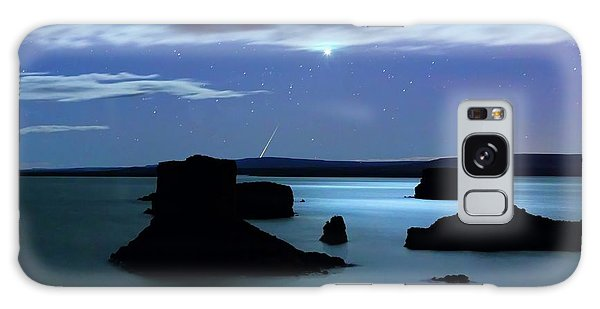 Drown Galaxy Case - Venus And Meteor Over Reservoir by Luis Argerich