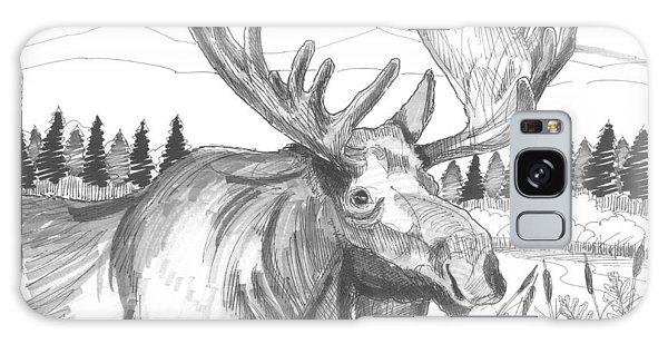 Vermont Bull Moose Galaxy Case