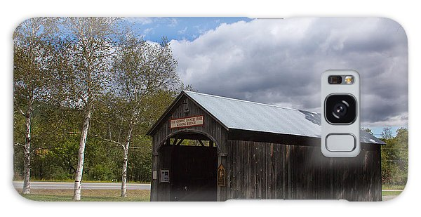 Vermont Country Store Covered Bridge Galaxy Case
