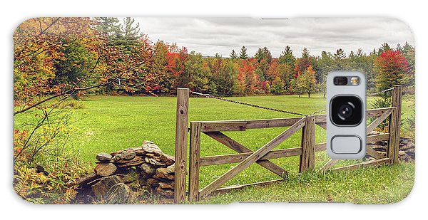 Vermont Countryside Galaxy Case