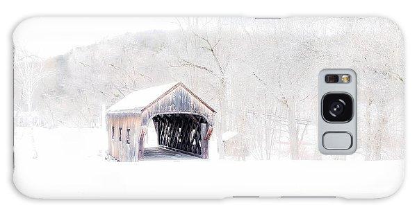 Vermont Covered Bridge Galaxy Case