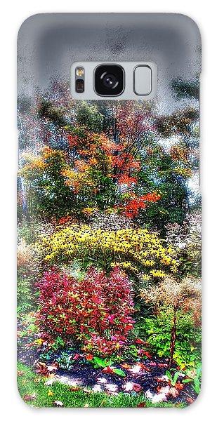 Vermont Fall Garden Galaxy Case