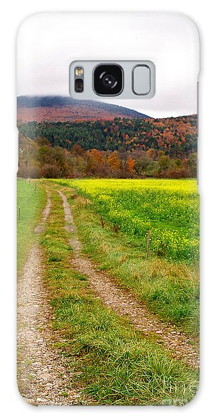 Vermont Farmer's Track Galaxy Case by Vinnie Oakes