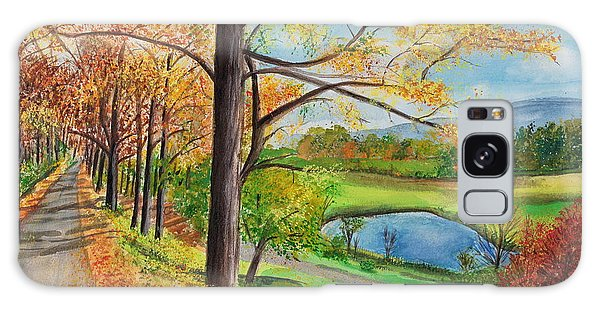 Vermont In The Fall Galaxy Case