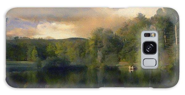Vermont Morning Reflection Galaxy Case by Jeff Kolker