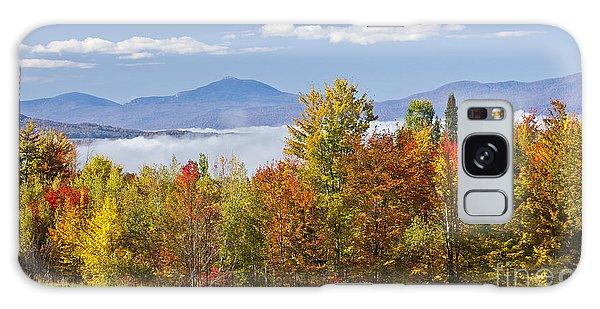 Vermont October Morning Galaxy Case by Alan L Graham