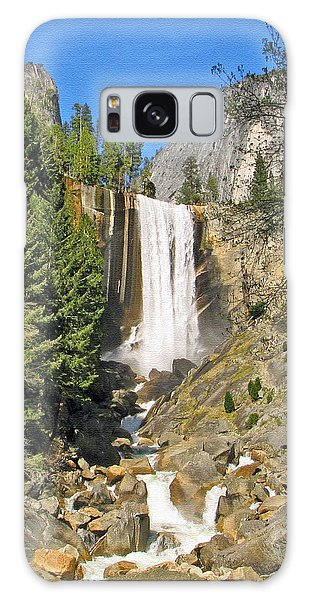 Vernal Fall On The Mist Trail Galaxy Case