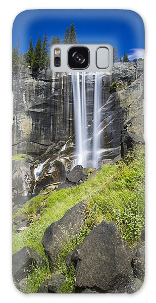 Vernal Falls In July At Yosemite Galaxy Case by Mike Lee