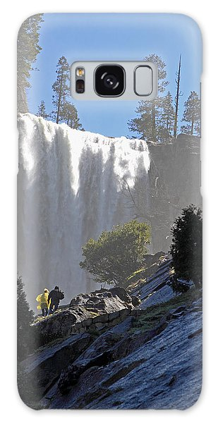 Vernal Falls Mist Trail Galaxy Case by Duncan Selby