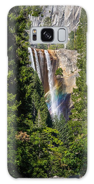 Vernal Falls Rainbow Galaxy Case by Mike Lee