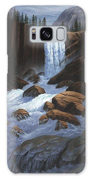 Vernal Falls Yosemite  Galaxy Case
