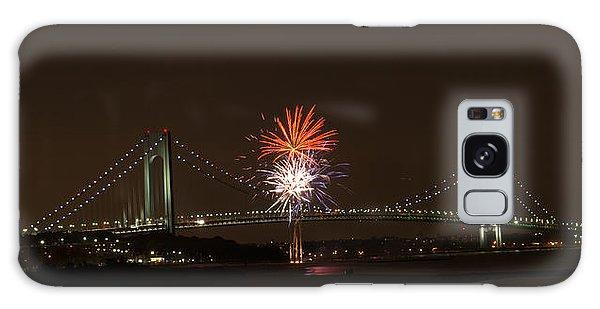 Verrazano Narrows Bridge Fireworks Galaxy Case