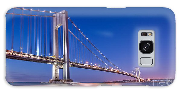 Verrazano Bridge Before Sunrise  Galaxy Case
