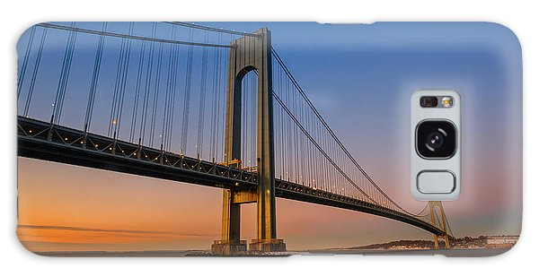 Verrazano Bridge Sunrise  Galaxy Case