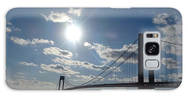 Verrazano Bridge Sunset Galaxy Case by Lyric Lucas
