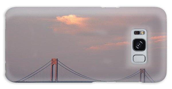 Verrazano Narrows Bridge At Sunset Galaxy Case