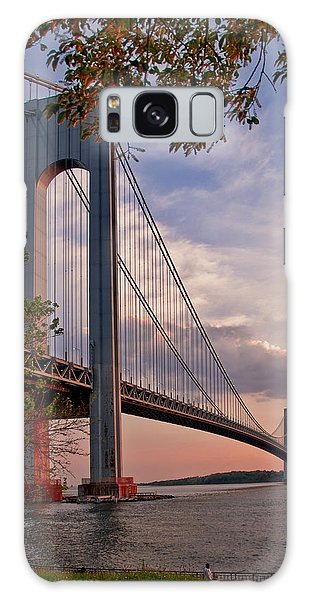 Verrazano Narrows Bridge Galaxy Case by Jean-Pierre Ducondi