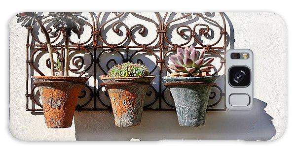 Vertical Cacti Garden Galaxy Case